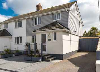 Thumbnail 3 bed semi-detached house for sale in Carbis Bay, St.Ives, Cornwall