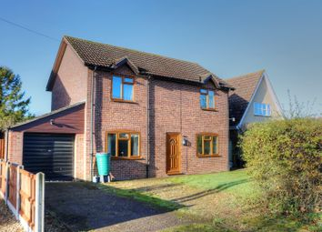 Thumbnail 3 bed detached house for sale in Bentley Road, Forncett St Peter