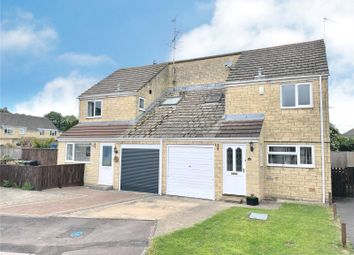 Thumbnail 4 bed semi-detached house for sale in Rose Way, Cirencester