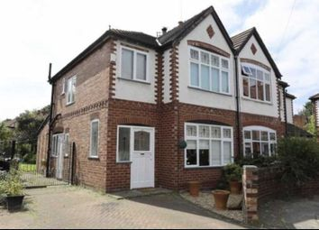 Thumbnail 3 bed semi-detached house for sale in Merlyn Avenue, Manchester