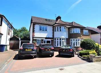 Thumbnail 4 bed semi-detached house for sale in Highview Avenue, Edgware