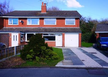 Thumbnail 3 bed semi-detached house to rent in Harris Road, Lostock Gralam, Northwich