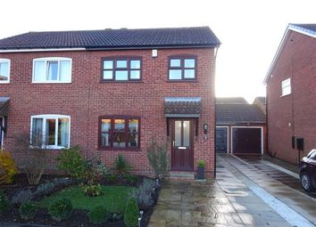 Thumbnail 3 bed semi-detached house for sale in Dalmally Close, Woodthorpe, York