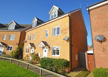 Thumbnail 4 bedroom semi-detached house for sale in Skye Close, Orton Northgate, Peterborough