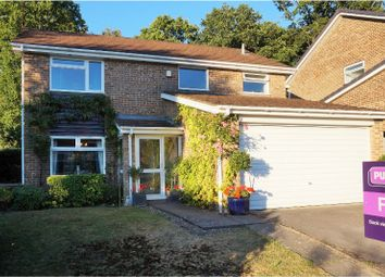 Thumbnail 4 bed detached house for sale in Arun Way, West Wellow, Romsey