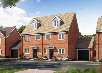 "Thumbnail 3 bedroom semi-detached house for sale in ""The Hulsfield"" at Littleworth Road, Benson, Wallingford"