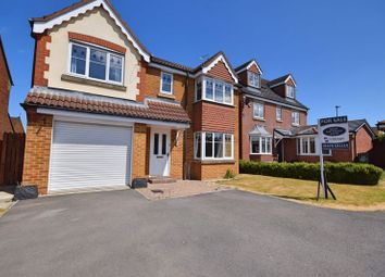 Thumbnail 5 bed detached house for sale in Nottingham Court, Bedlington