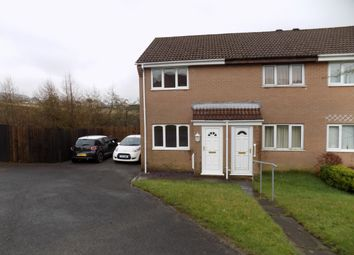 Thumbnail 2 bedroom end terrace house to rent in Honeysuckle Close, Rassau, Ebbw Vale