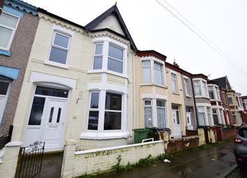 Thumbnail 3 bed terraced house to rent in Albemarle Road, Wallasey, Merseyside