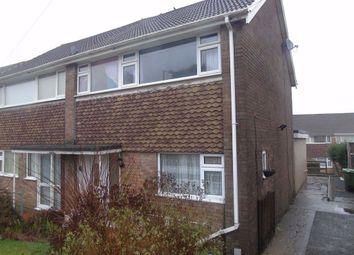Thumbnail 4 bedroom semi-detached house for sale in Furze Crescent, Morriston, Swansea