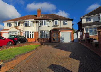Thumbnail 4 bed semi-detached house for sale in Ashcombe Avenue, Handsworth Wood, Birmingham