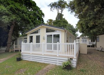 Thumbnail 2 bed mobile/park home for sale in Holiday Lodge, Mudeford, Christchurch