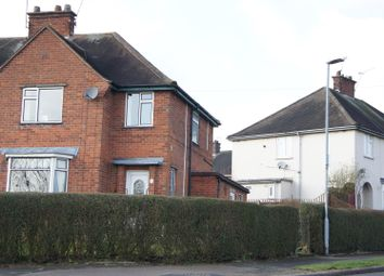Thumbnail 3 bed semi-detached house for sale in James Street, Anstey, Leicester