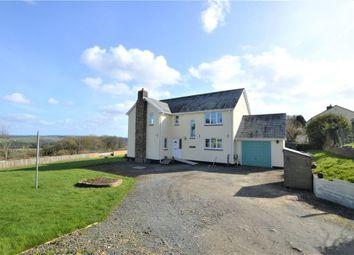 Thumbnail 4 bed detached house for sale in Petrockstowe, Okehampton, Devon