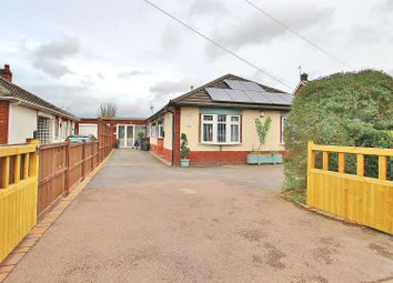 Thumbnail 3 bed detached bungalow for sale in Leicester Road, Thurcaston, Leicestershire