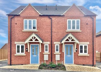 Thumbnail 2 bed semi-detached house for sale in Lowe Avenue, Smalley, Ilkeston