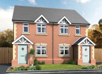 Thumbnail 3 bed semi-detached house for sale in Gwel Y Llan, Caernarfon