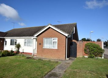 Thumbnail 2 bed semi-detached bungalow for sale in Nightingale Close, Clacton-On-Sea