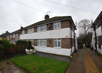 Thumbnail 2 bed maisonette to rent in Meadow Way, Reigate