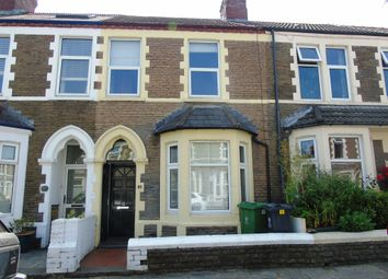 Thumbnail 2 bed terraced house for sale in Lisvane Street, Cathays, Cardiff