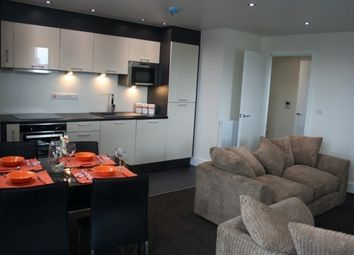 Thumbnail 2 bed flat to rent in Indigo Blu, Crown Point Road, Leeds City Centre