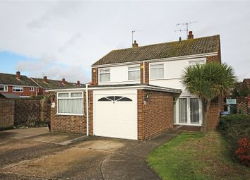 Thumbnail 3 bed semi-detached house for sale in Roakes Avenue, Addlestone, Surrey