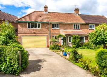 Thumbnail 4 bedroom semi-detached house for sale in East View, Husthwaite, York