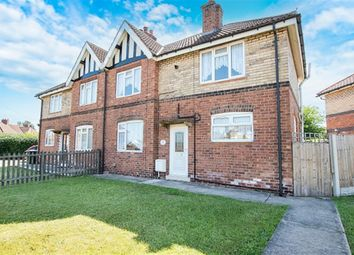 Thumbnail 3 bed semi-detached house for sale in Droversdale Road, Bircotes, Doncaster