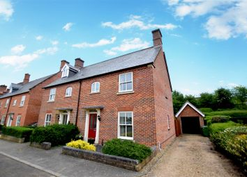 Thumbnail 3 bed semi-detached house for sale in Trowse, Norwich