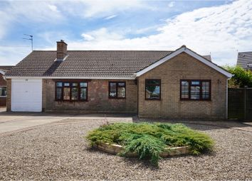 Thumbnail 3 bed detached bungalow for sale in Hebden Moor Way, Lincoln