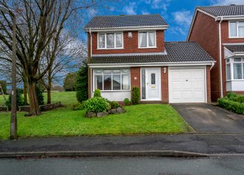 Thumbnail 3 bed detached house for sale in Charterfield Drive, Heath Hayes, Cannock
