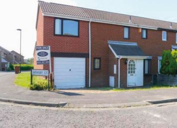 Thumbnail 3 bed semi-detached house for sale in Hensby Court, Newcastle Upon Tyne