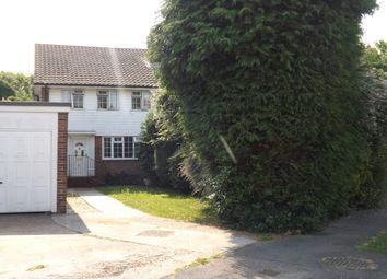 Thumbnail 3 bed semi-detached house to rent in Springett Avenue, Ringmer, Lewes