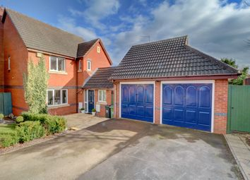 Thumbnail 4 bed detached house for sale in Hoskyns Avenue, Harley Warren, Worcester