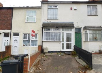 Thumbnail 2 bed terraced house for sale in Wellington Road, Bearwood, Smethwick
