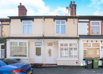 Thumbnail 3 bed terraced house for sale in Merridale Street West, Wolverhampton