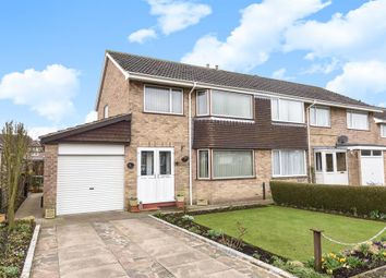 Thumbnail 3 bedroom semi-detached house for sale in Westfield Close, Pocklington, York