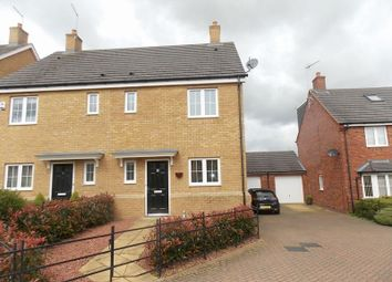 Thumbnail 3 bed semi-detached house to rent in 11 Chestnut Close, Milton Malsor, Northamnpton