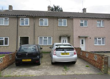 Thumbnail 2 bed terraced house for sale in Raglan Close, Luton