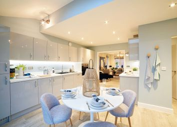 "Thumbnail 3 bed town house for sale in ""The Scarsdale"" at Oak Tree Road, Hugglescote, Coalville"