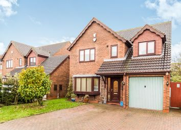 Thumbnail 4 bed detached house for sale in The Meadows, Messingham, Scunthorpe