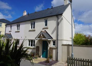 Thumbnail 3 bedroom semi-detached house for sale in Duporth, St. Austell, Cornwall
