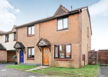 Thumbnail 3 bed semi-detached house for sale in Rosemary Close, Tycoch