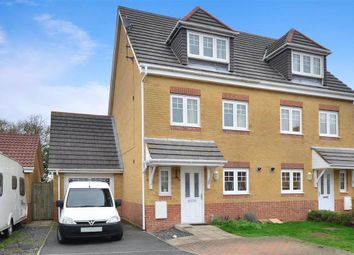 Thumbnail 3 bedroom semi-detached house for sale in Mulberry Close, Carisbrooke, Newport, Isle Of Wight