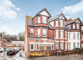 Thumbnail 1 bedroom flat for sale in Grove Terrace, Folkestone, Kent