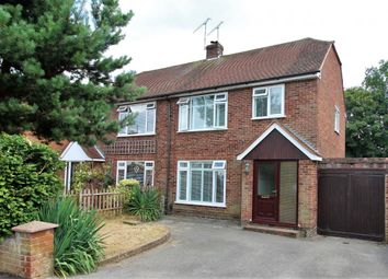 Thumbnail 3 bed semi-detached house for sale in Farm Road, Frimley