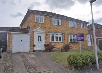 Thumbnail 4 bed semi-detached house for sale in The Hazels, Wigmore, Gillingham