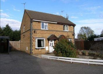 Thumbnail 2 bedroom semi-detached house for sale in Heatherdale Close, Farcet, Peterborough, Cambridgeshire