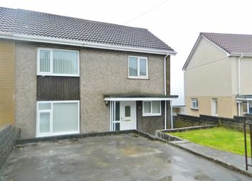 Thumbnail 3 bedroom semi-detached house for sale in Arennig Road, Penlan, Swansea