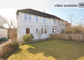 Thumbnail 3 bed semi-detached house for sale in Merrylee Road, Glasgow